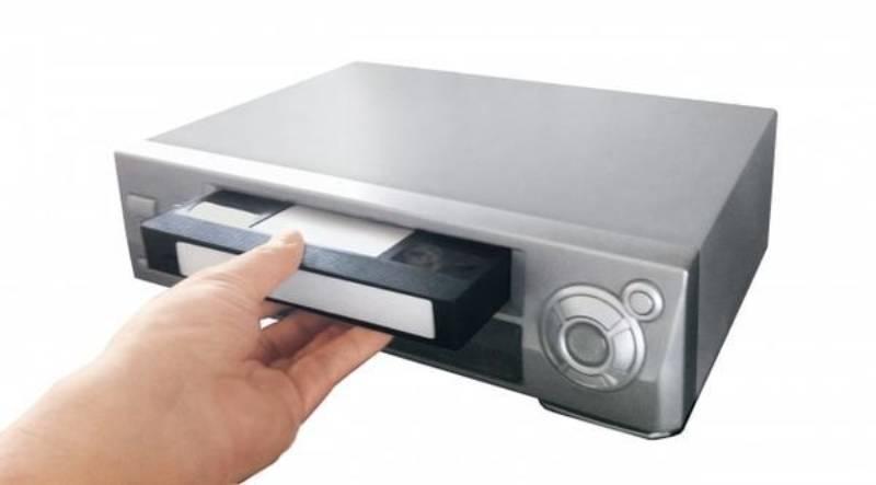 ビデオ機器の画像